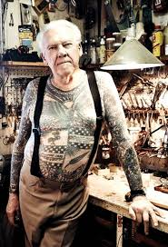 Lyle Tuttle, the forefather of modern day electric tattooing visits Lucky Rabbit Tattoos!